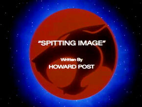 Spitting Image Title Card
