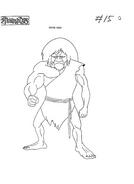 Original Concept Art - Cavemen - 001