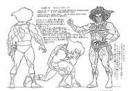 Original Concept Designs - Lion-O - 001
