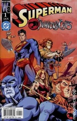Image result for THUNDERCATS/SUPERMAN (