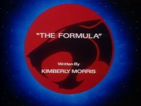 The Formula - Title Card
