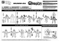 Bandai ThunderCats Mumm-Ra Action Figure Instructions - 01