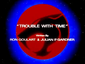 Trouble with Time Title Card