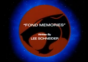 Fond Memories - Title Card