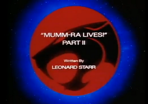 Mumm-Ra Lives - Part II - Title Card