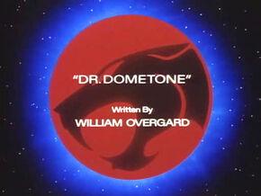 Dr Dometone Title Card