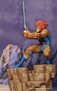 Hard Hero Lion-O Statue - 002