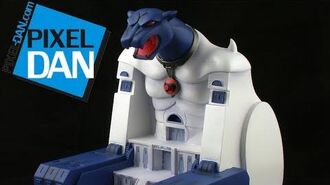 Icon Heroes ThunderCats Cats Lair Polystone Environment Statue Review