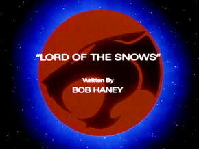 Lord of the Snows Title Card