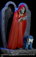 Hard Hero Mumm-Ra and Ma-Mutt Statue - 002