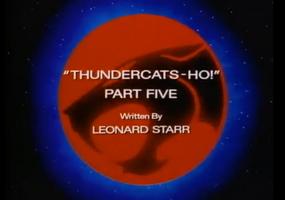 Thundercats Ho - Part V - Title Card