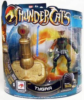 Bandai ThunderCats Tygra Deluxe Action Figure Boxed - 01