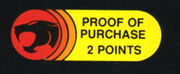 Proof of purchase points