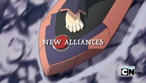 New Alliances Title Card