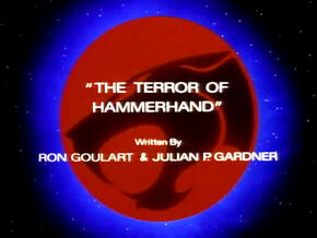 Terror of Hammerhand Title Card