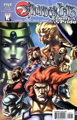 Thundercats Enermy's Pride 5