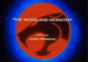 The Mossland Monster - Title Card