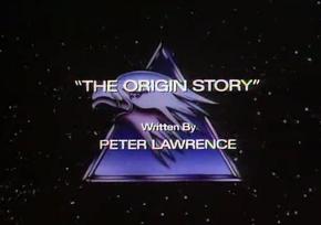 The Origin Story - Title Card