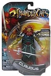 Bandai ThunderCats Claudus Action Figure Boxed - 01