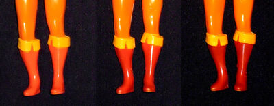LJN Cheetara Boots Variations