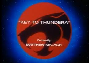 Key To Thundera - Title Card