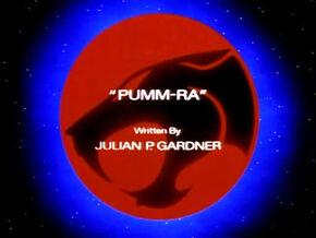 Pumm-Ra Title Card
