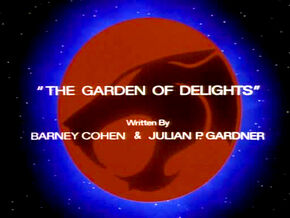 Garden of Delights Title Card
