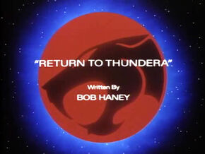 Return to Thundera Title Card