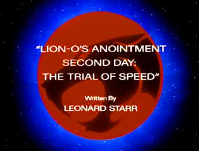 Trial of Speed Title Card