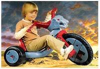 LJN Big Wheel Pedal Bike Loose