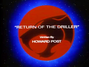 Return of the Driller Title Card