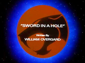 Sword in a Hole Title Card