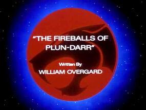 Fireballs of Plun-Darr TItle Card