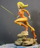 Pop Culture Shock Cheetara Statue - 004
