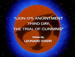 Trial of Cunning Title Card
