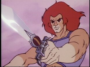 SWORD THUNDERCATS 80`s - LION-O 2 (8)