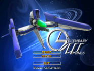 Legendary Wings - Title Screen
