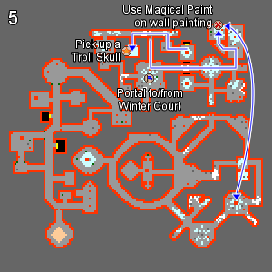 Dream Labyrinth Map 5