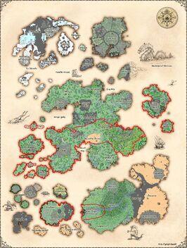 Thaian kingdom map