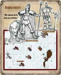 Barbarian Bloodwalker Artwork