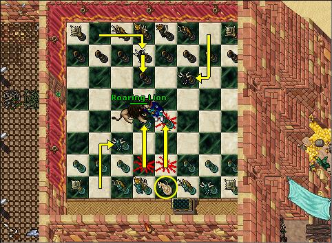 Grave Danger Quest - Cobra Chess