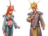Sun Priest Outfits