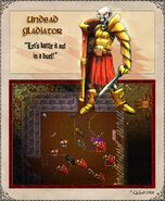 Undead Gladiator Artwork