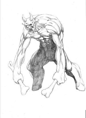 Bone Ogre by Zantex44