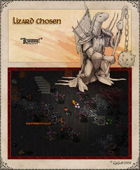 Lizard Chosen Artwork