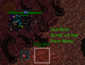 Digestion Floor Blob