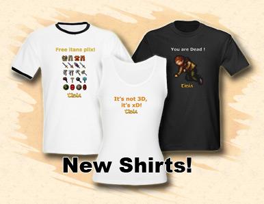 New t shirts