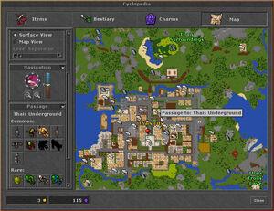 Cyclopedia Map Thais