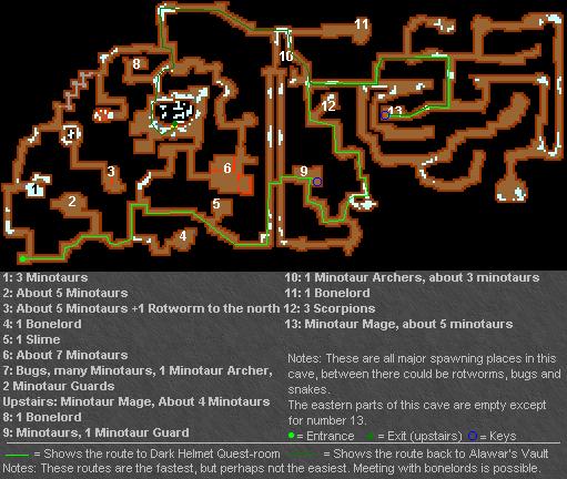 Alawar's Quest Route