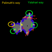 In Service of Yalahar mission 7 Map 1 -4